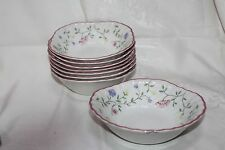 Johnson Bros. SUMMER CHINTZ Fine English Tableware 6 pcs Dessert Bowls