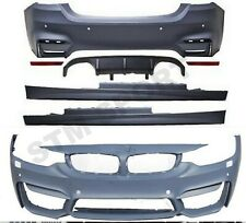 BMW F32 F33 SERIES M4 FULL BODY KIT BUMPER DIFFUSER SIDES SKIRTS LIP SPLITTER CS