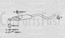 Scatola centrale di scarico Nissan Micra 1.6 Benzina due volumi 07/2005 a 06/2006