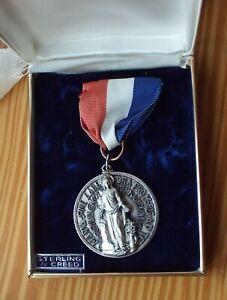 Creed Sterling Silver Marian Award Diocese of Fall River Original Box
