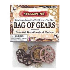 Steampunk Gears Cogs Clock Vintage Victorian Fancy Dress Costume Prop