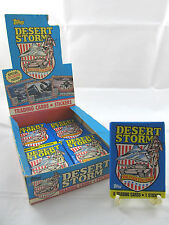 1991 Topps Desert Storm Sealed Vintage (Series 1) Original Military Wax Pack New