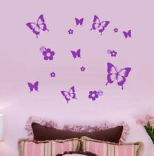Butterfly Wall Stickers - 6 Designs to choose from Removable Decals Butterflies