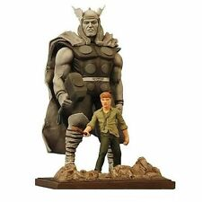 MARVEL ORIGINS THOR STATUE AVENGERS Diamond Select Toys Maquette Hulk Iron man