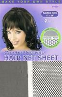 Annie Weaving Net Deluxe Invisible Expandable Combo (2 nets in 1 pack)