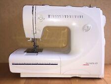 BERNETTE 65 FOR BERNINA SEWING MACHINE HARDLY USED + LIGHT + RULERS
