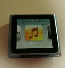 Apple MC689LL iPod Nano 6th Generation Blue 8 GB MP3 Player EXCELLENT! Ipod only