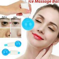 2pcs Magic Cooling Globes Ice Globe Big Facial Massage Ball Tools for Face Eyes
