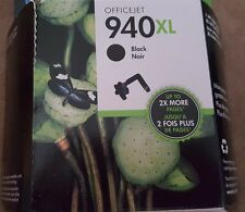 HP NEW AND SEALED Black HP 940XL Ink Cartridge No 7