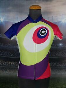 Assos Women's Cycling Jersey Size L MINT Elite Style Short Sleeve Full Zipper
