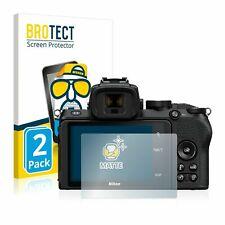 Nikon Z 50 , 2 x BROTECT® Matte Screen Protector, anti-glare, hard-coated