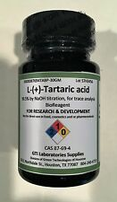 Tartaric acid, L-(+)-, 99.5% by NaOH titration for trace analysis BioReagent 30g