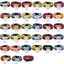 Football NFL US Team Umbrella Rope Wristband  Bracelets Bracelet-Pick Team Gift