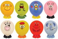 6 Ballon Tête Animaux - Fête / Sac à Surprise Remplissage Amusant Jouets