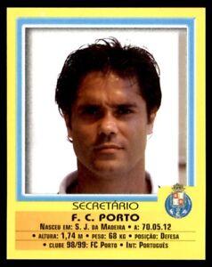 Panini Futebol 1999-2000 FC Porto Secretario No. 3
