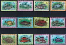 Tuvalu 1997 vissen Mi nr 757 - 768 (t1)