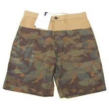 L-2387105 New Moncler Olive Camouflage Walking Shorts Size US-36/Marked-52