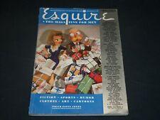 1941 DECEMBER ESQUIRE MAGAZINE - VARGA & PETTY ILLUSTRATIONS - ADS - ST 5741