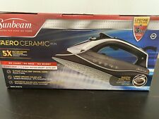 New listing Sunbeam ~ Super Smooth Aero Ceramic 5X Steam Iron. Never Opened With Plastic.