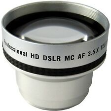 3.5x Telephoto Lens for Panasonic AG-EZ50 HDC-HS100 HDC-HS9 HDC-SD100 HDC-SD5