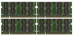BULK LOT 8GB 4x2GB DDR2 PC2-5300 667MHz Memory SODIMM RAM for Laptops Notebooks