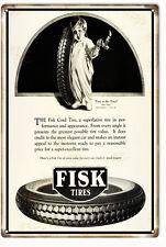 Reproduction Fisk Super Excellent Tires Sign