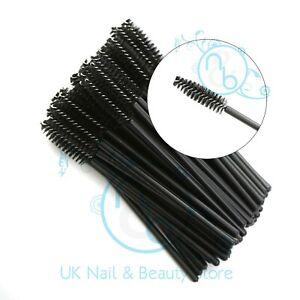 Disposable Mascara Wands Eyelash Extension Brush Make Up Applicator UK VAT