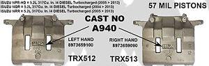 ISUZU NPR / NQR / NRR BRAKE CALIPER TRX512 OR TRX513