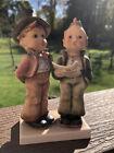 "Goebel Hummel Figurine DUET Boys Singing #130 TMK2 5-3/8"" tall Excellent Conditi"