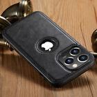 Внешний вид - For iPhone 13 12 Pro Max Case Slim Leather Luxury Thin Shockproof Cover Casus 11