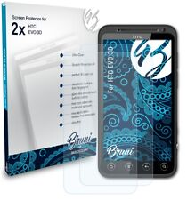 Bruni 2x Protective Film for HTC EVO 3D Screen Protector Screen Protection