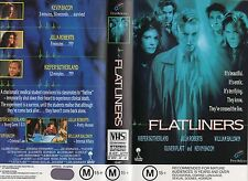 FLATLINERS -Sutherland & Roberts -VHS-PAL-NEW-Never played! -Original Oz release