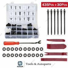 467Pcs Car Retainer Clips Auto Fastener Cars Body Push Trim Pin Rivet Bumper Kit