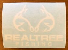 """REALTREE FISHING, BRAND NEW 4"""" x 5 1/2"""" DECAL, AWESOME ! COOL !"""