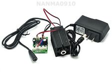 Focusable 500mw 808nm Infra-Red IR Laser Diode Dot Module w/ 12V 1A Adapter