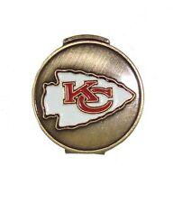 Kansas City (KC) Chiefs Hat Clip with Golf Ball Marker
