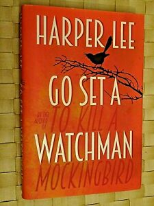 'GO SET A WATCHMAN'. Harper Lee. 2015. h/b d/j.  Excellent Condition.