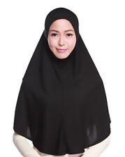 NUEVO Hijab Islámico Pañuelo De Cabeza Bufanda Larga Cuello Pecho Capa Musulmán