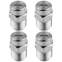 4 Pcs Pressure Washer Surface Cleaner Nozzle Replacement Thread Type Spray  H8K2