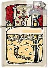 Zippo CM1647 guts insides of Lighter with PIPE INSERT PL