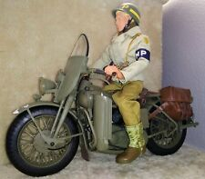 """WWII/Military/Historical 4 Action Figures  12""""/Collector/Articulated/MINT Cond"""