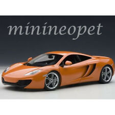 AUTOart 76006 MCLAREN MP4-12C 1/18 DIECAST MODEL CAR ORANGE