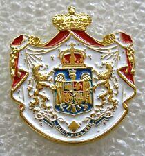 x484 Romania Kingdom COAT OF ARMS BADGE PIN