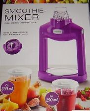Smoothie Mixer Maker Inkl. 2 Trinkbecher Silvercrest