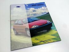 1999 Chevrolet Metro Brochure USA