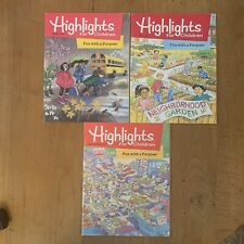 Vtg Highlights Magazine For Kids Educational Learning Fun