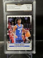 Tyrese Maxey 2020-21 Contenders  Front Row Seat RC #SS-9 76ers GMA 10 PSA BGS