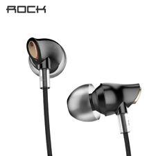 Rock Luxury Zircon Stereo Headphones Headset 3.5mm Earphones Earbuds For iPhone