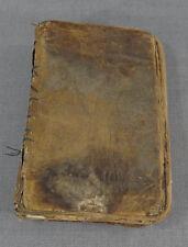 Early OTTOMAN Arabic Islamic QURAN TURKEY TURKISH Holy BIBLE Muslim PRAYER BOOK