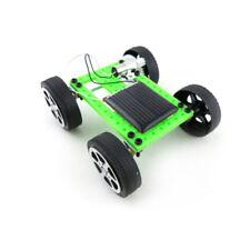 Mini Solar Toy DIY Car Children Educational Puzzle IQ Gadget Hobby Robot WrBILS
